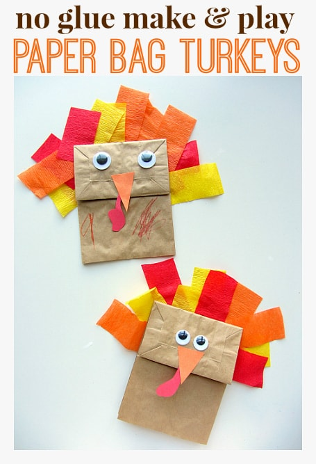 10 EASY AND ADORABLE TURKEY CRAFTS