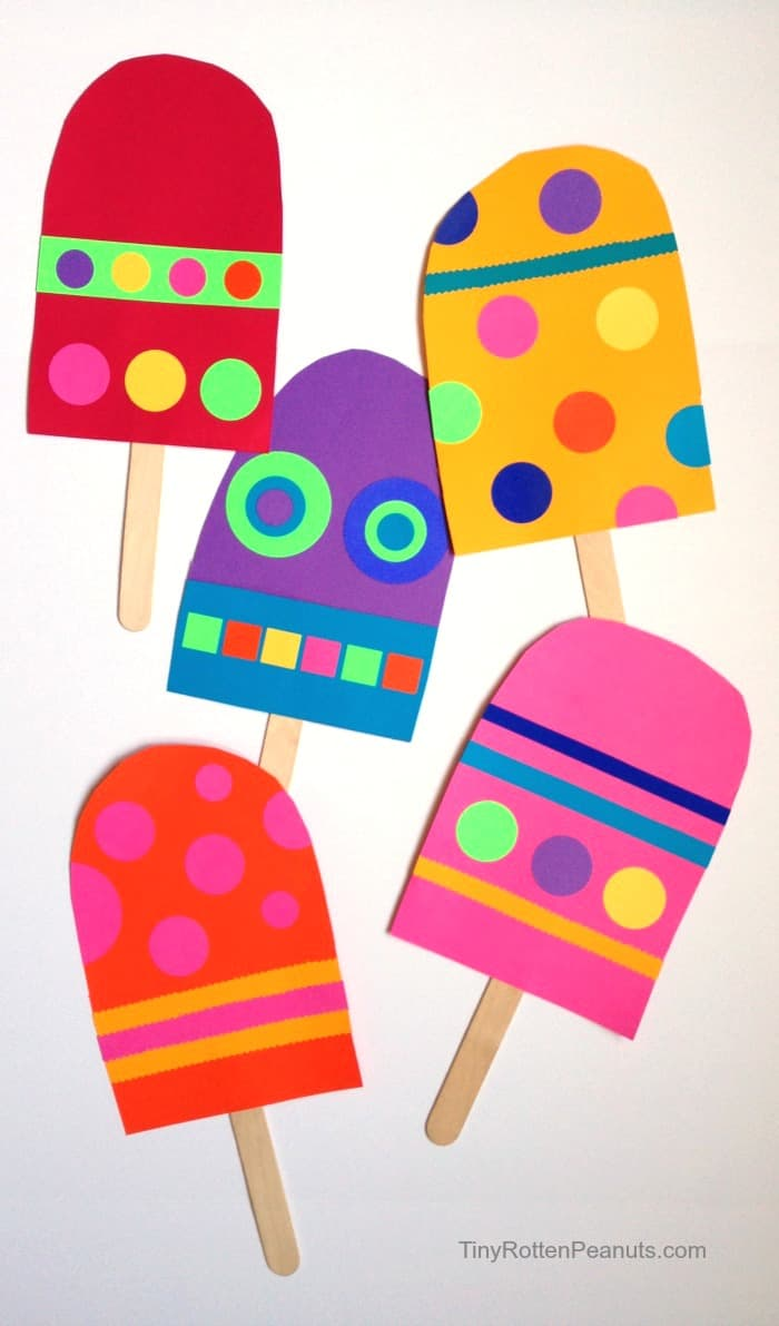 ice cream craft ideas 13 colorful popsicle projects for 4726