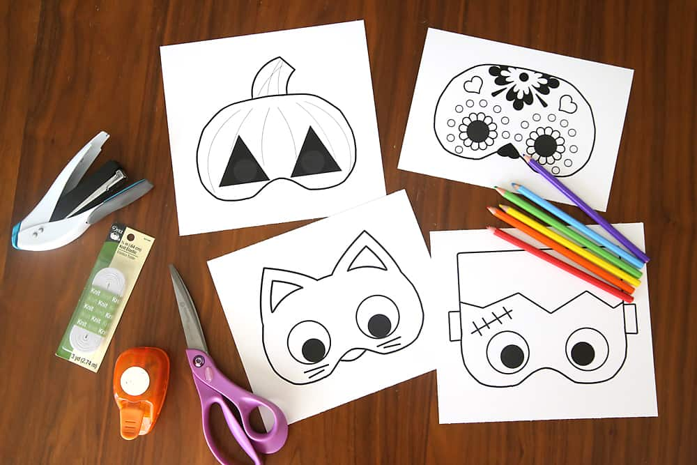 15 free halloween printables for kids