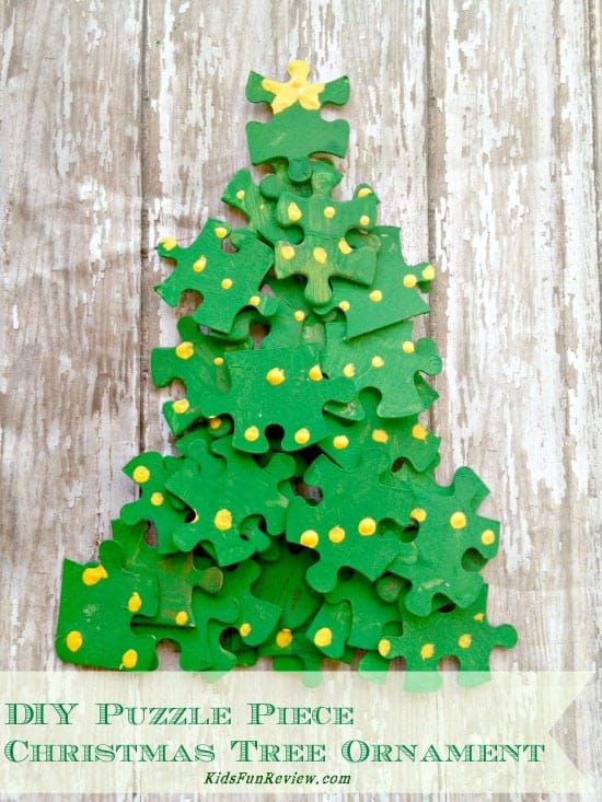 Diy Christmas Tree Puzzle