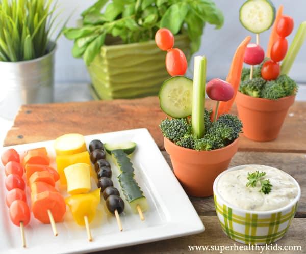 10 CREATIVE WAYS TO GET KIDS TO EAT VEGGIES