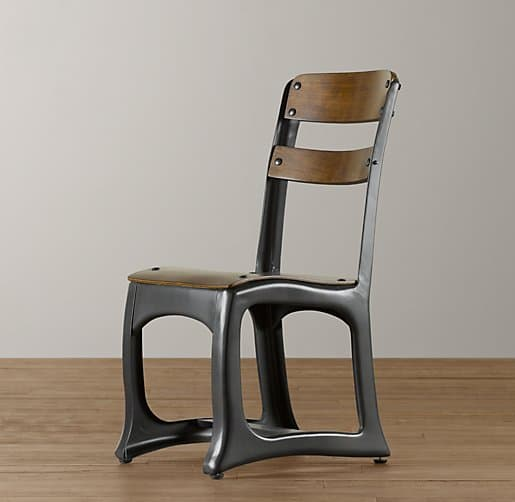 Vintage Schoolhouse Chair $89. Steel Frames Give This Wooden Schoolhouse  Chair A Modern Look.