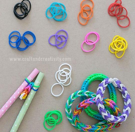 Diy Pencil Loom Bracelets