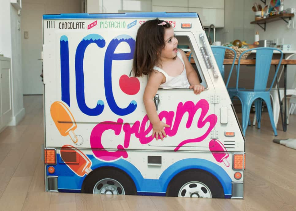 Decked Out Ice Cream Truck
