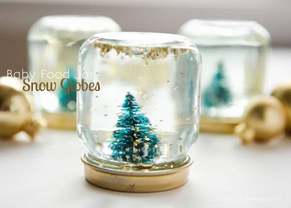 7 Ways To Make A Winter Snow Globe