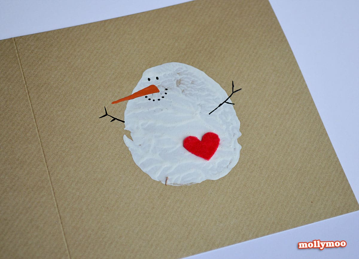 Making Christmas Cards Ideas Part - 23: 8 CRAFTY AND CUTE KID MADE CHRISTMAS CARDS
