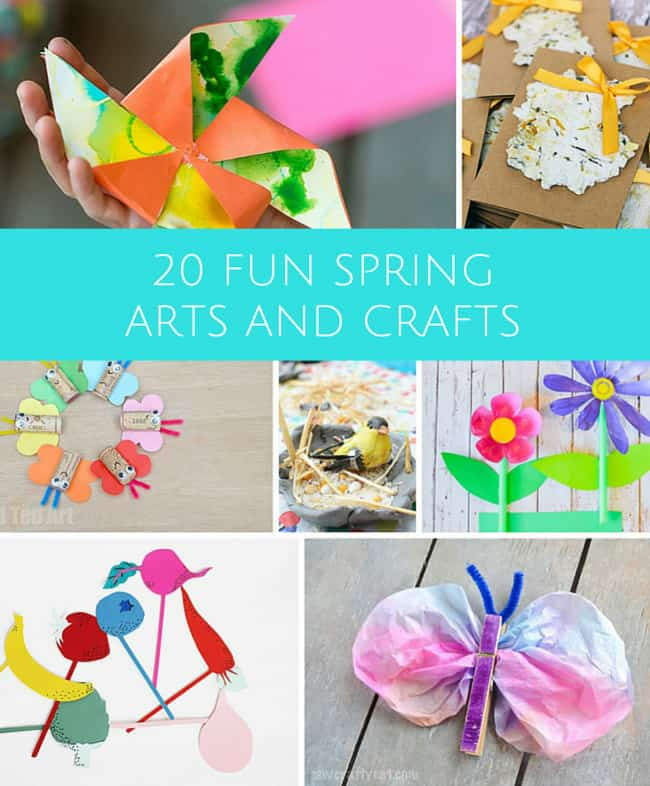 spring arts and crafts ideas 20 crafts to celebrate 7176