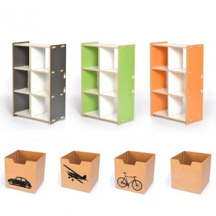 Lovely ... Playful Colorful Storage Solutions. Choosing Items That Are Classic And  Modular In Their Design Means That Youu0027ll Be Able To Use These Practical  Durable ...