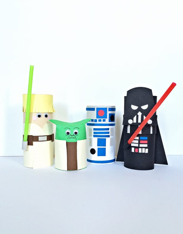 Image result for toilet paper roll crafts starwars