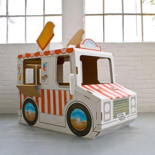 Dreamy Cardboard Play Houses