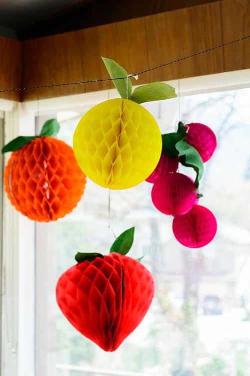 10 Fresh Ideas For A Fruit Themed Party
