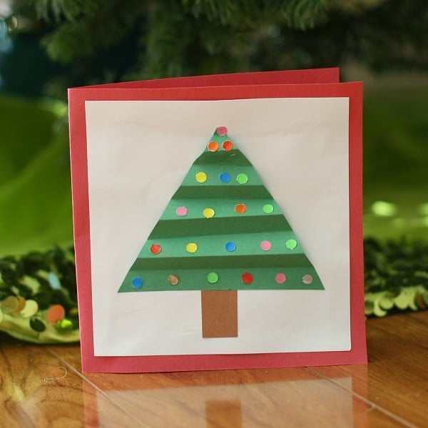Christmas Ideas For Kids Cards.8 Crafty And Cute Kid Made Christmas Cards