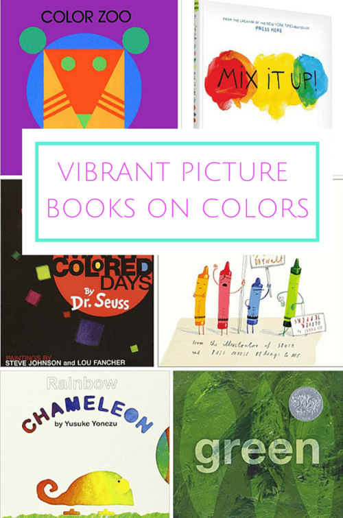8 VIBRANT UNIQUE PICTURE BOOKS ON COLORS