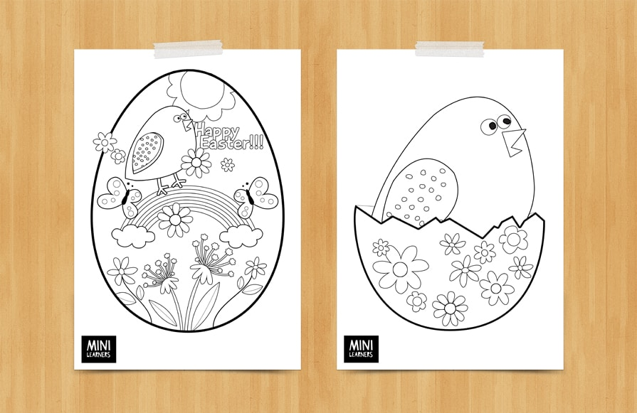 free printable easter coloring pages - Easter Coloring Pages
