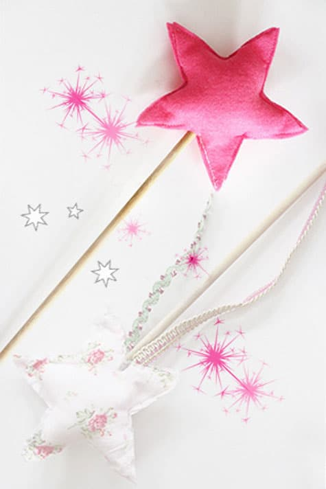 felt wand via sisters guild a classic play wand that will carry your princess through many pretend fairy tales