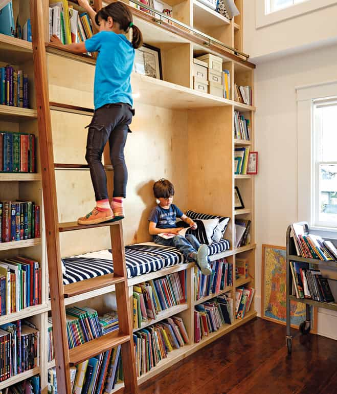 Fun And Cozy Library Design By Yta: 15 COZY AND CREATIVE READING NOOKS FOR KIDS