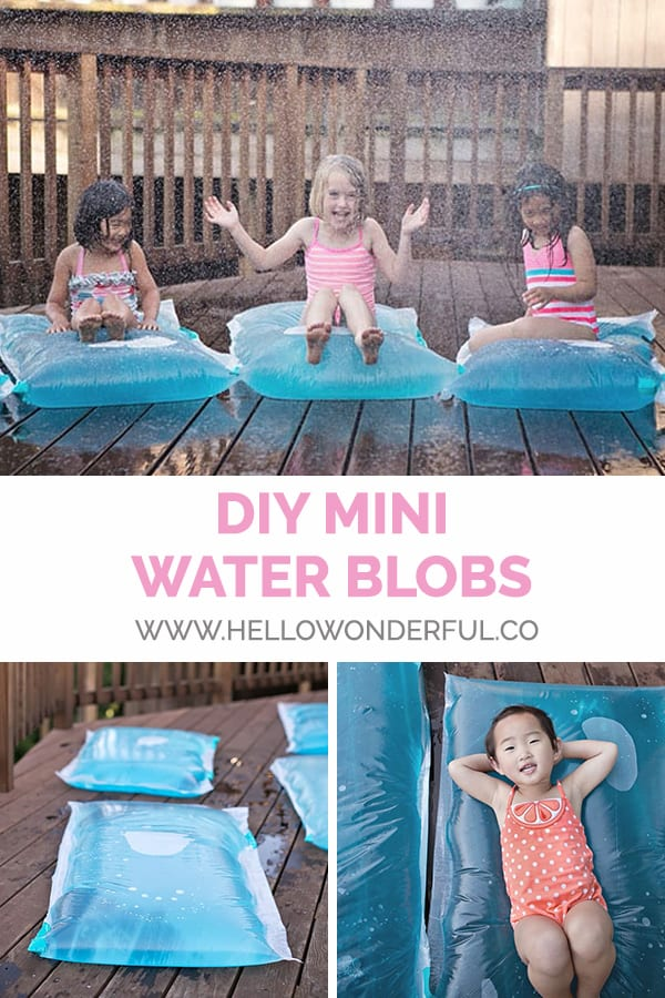 DIY Mini Water Blobs