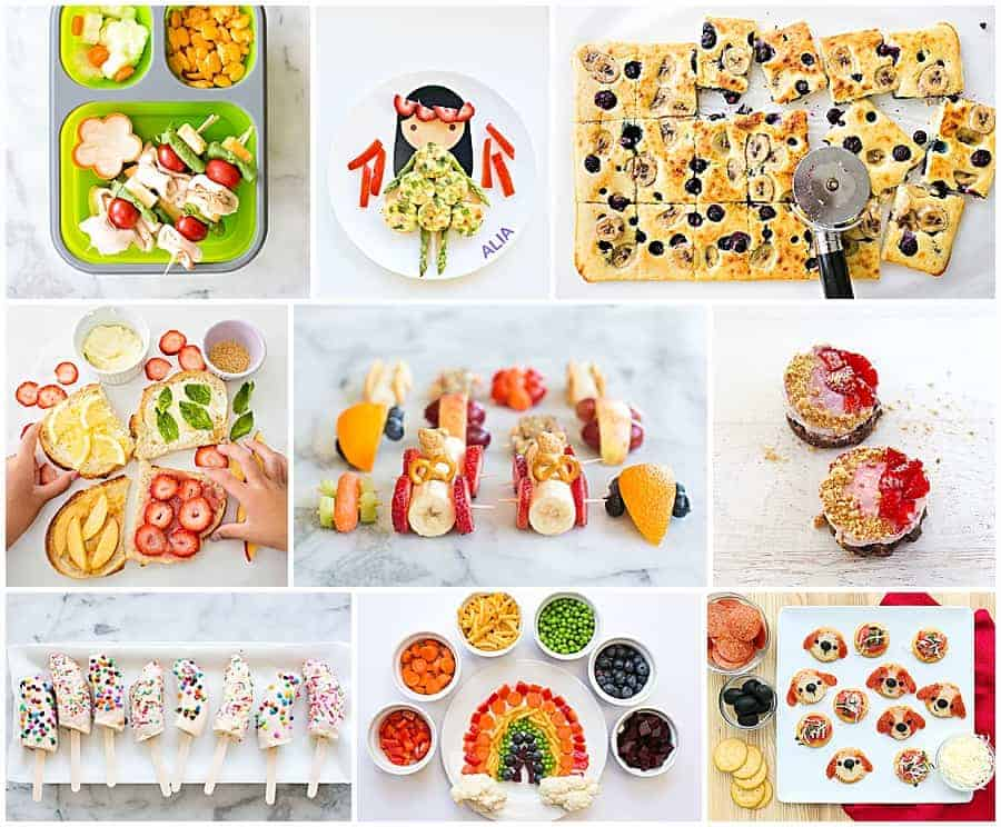 yummy kid friendly snacks and kids food recipes