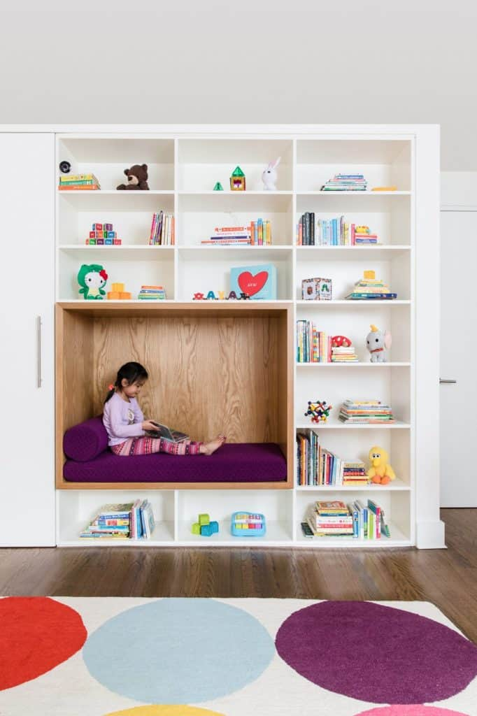 15 Cozy And Creative Reading Nooks For Kids