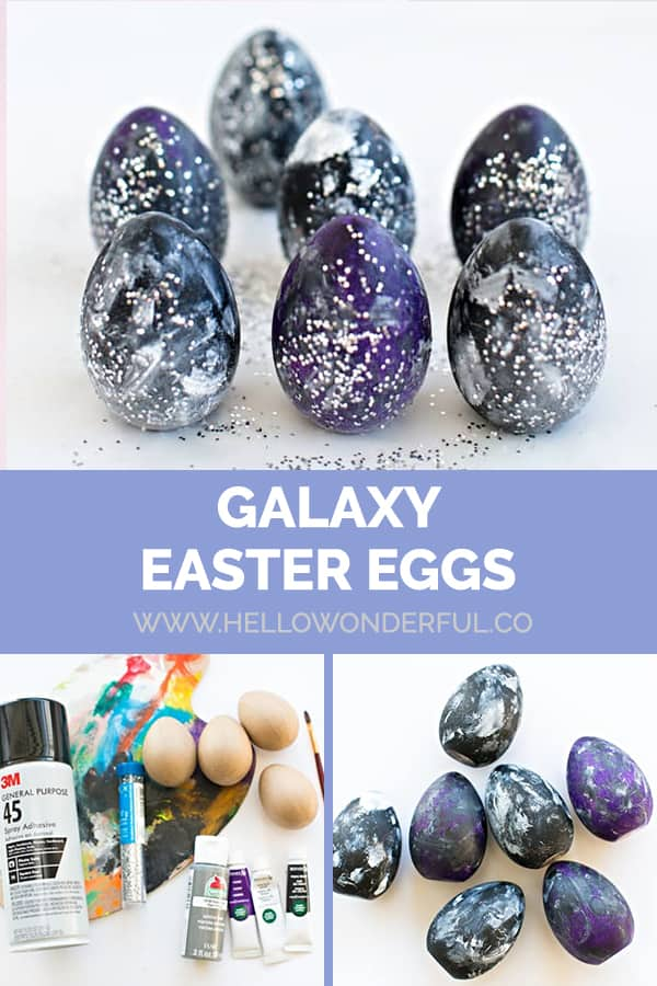Galaxy Easter Eggs