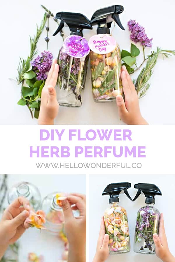 DIY Flower Herb Perfume