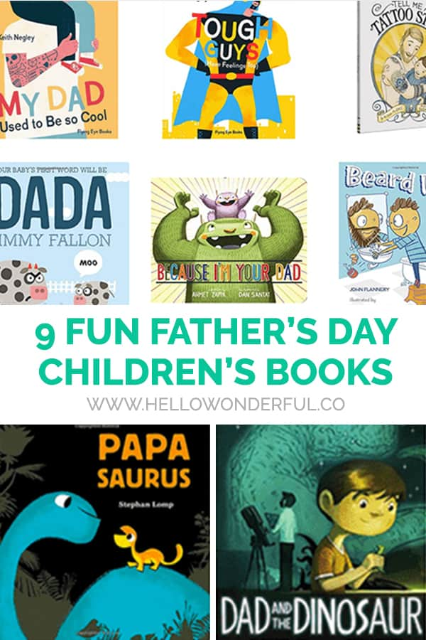 A collection of fun Father's Day picture books for kids and dads to enjoy together!