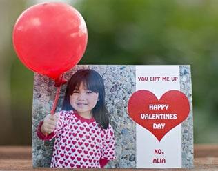 3D VALENTINE'S DAY BALLOON CARD