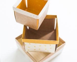 DIY BERRY PAPER BOXES
