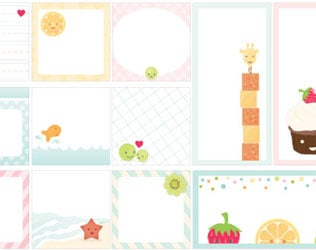 CUTE FREE PRINTABLE LUNCH NOTES