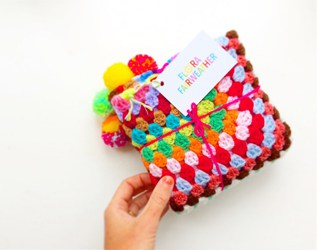 ADORABLE HANDMADE POM POM AND KNIT GOODS FROM FLORA FAIRWEATHER