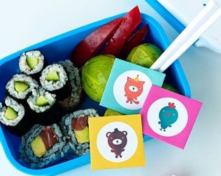 8 ADORABLE FREE PRINTABLE LUNCHBOX NOTES