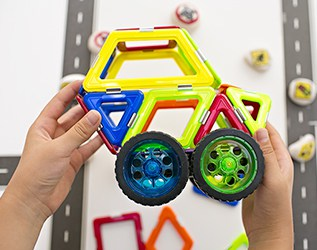 GEOSMART MAGNETIC STEM TOYS FOR KIDS