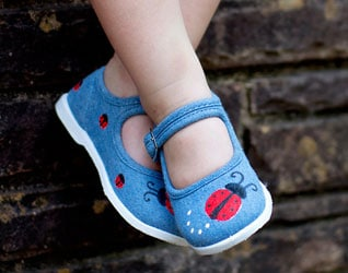 HAND PAINTED BABY AND TODDLER SHOES