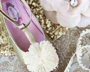 BEAUTIFULLY CRAFTED GIRLS' PARTY SHOES