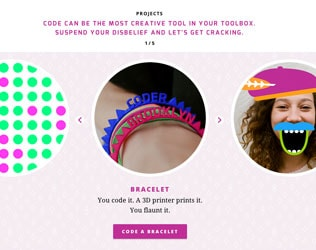 MADE WITH CODE MAKES CODING FUN FOR GIRLS
