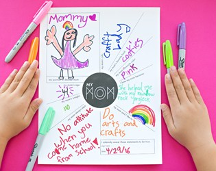 ADORABLE PRINTABLE MOTHER'S DAY QUESTIONNAIRE