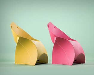 THIS ORIGAMI FURNITURE CHAIR FOR KIDS IS INNOVATIVE AND FLEXIBLE