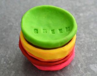 RAINBOW PINCH POTS AND SORTING ACTIVITY
