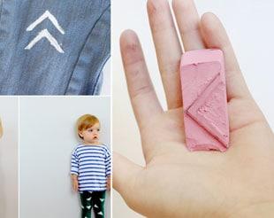 DIY KIDS' STAMPED PANTS