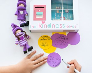 ENCOURAGE KIDS SPREADING KINDNESS WITH THE KINDNESS ELVES