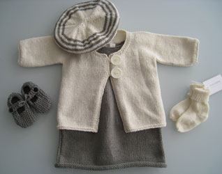 ECO-FRIENDLY BABY AND TODDLER KNITWEAR