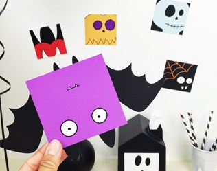 FREE PRINTABLE HALLOWEEN FUN CARDS WITH COLORING OPTION