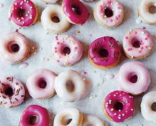 12 SCRUMPTIOUS BAKED DONUTS KIDS WILL LOVE