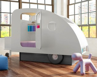 IMAGINATIVE BEDS FOR KIDS FROM MATHY BY BOLS