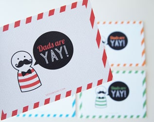 8  UNIQUE FATHER'S DAY FREE PRINTABLES