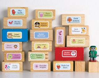 TINYME: CUTE LABELS FOR ALL YOUR KIDS' STUFF