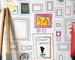 5 WAYS TO WALLPAPER YOUR KIDS' ROOM