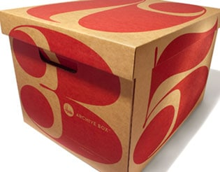 STYLISH ARCHIVE STORAGE BOXES