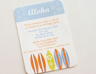 PRETTY PAPERS AND INVITES FOR YOUR PARTY