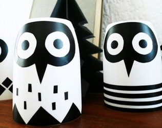 MAKE A RECYCLED OWL NIGHT LIGHT